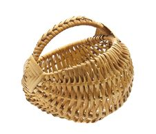 Free Empty Wicker Basket Royalty Free Stock Photo - 23513345