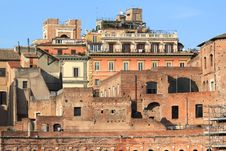 Free Rome - Trajan S Forum Royalty Free Stock Images - 23514049