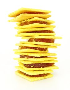 Free Stack Of Biscuit Royalty Free Stock Photos - 23514378