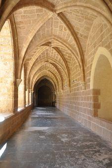 Free Monastery Interior Stock Image - 23515241