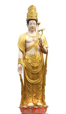 Free Guan Yin On A White Background Stock Photo - 23515460