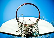 Free Basketball Hoop Stock Image - 23516411