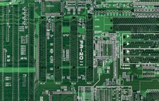 Free Printed Circuit Royalty Free Stock Images - 23516649