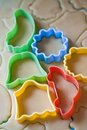 Free Dough For Biscuits Cutters Royalty Free Stock Photos - 23524978