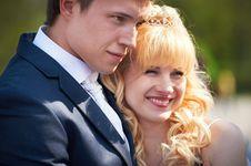Free Happy Bride And Groom Stock Photos - 23521153