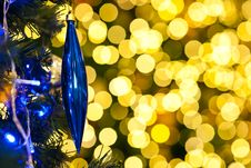 Free Blurred Of Christmas Light Stock Photography - 23521602