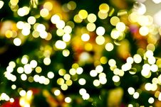 Free Blurred Of Christmas Light Stock Photos - 23521623