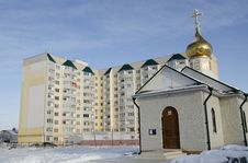 New Buildings In Saratov Royalty Free Stock Images