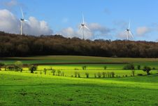 Free Wind Energy Royalty Free Stock Photo - 23524975