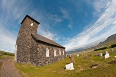 Free Stone Church In Iceland Stock Photo - 23529900