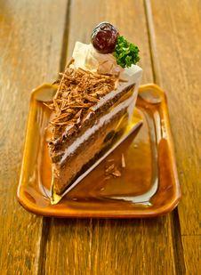 Free Tasty Chocolate Cake Royalty Free Stock Image - 23529906