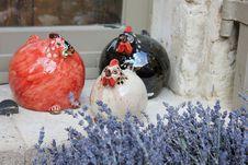 Free Ceramic Chickens Stock Photos - 23530563