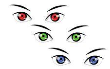 Free Eyes Royalty Free Stock Image - 23532976