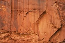 Free Massive Sandstone Wall,texture. Stock Photography - 23535202