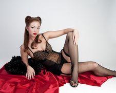 Free Model In Lingerie Stock Photo - 23535440