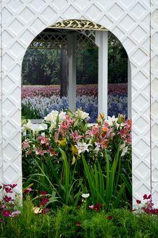 Free Garden Landscape Stock Image - 23535711