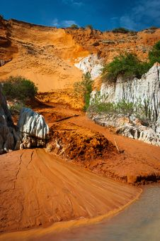 Free Red River Canyon, Mui Ne, Vietnam Stock Photos - 23537973