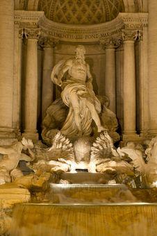 Free Fontana Di Trevi Stock Photos - 23539203