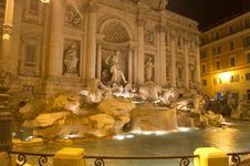 Free Fontana Di Trevi Royalty Free Stock Images - 23539229