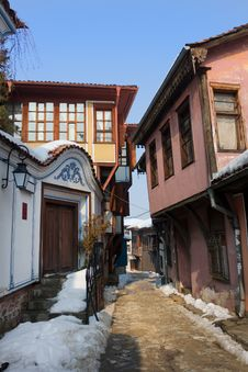The Old Plovdiv Stock Images