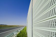 Sound Protection Walls Royalty Free Stock Images