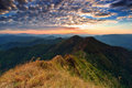 Free Majestic Sunset In The Mountains Landscape Stock Photography - 23544872