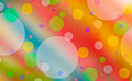 Free Abstract Colors And Circles. Stock Image - 23549411