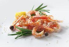Free Fried Shrimps Stock Image - 23541051