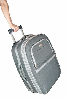 Free Suitcase On Wheels Stock Photography - 23541372
