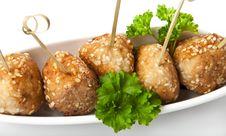 Free Meatballs Royalty Free Stock Photo - 23543815