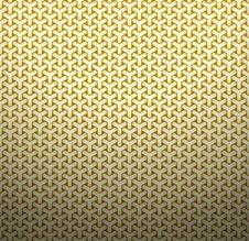 Free Golden Geometric Background Stock Image - 23544291