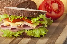 Free Sandwich Royalty Free Stock Photo - 23545045