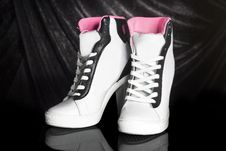 Sport High Heels Royalty Free Stock Photos