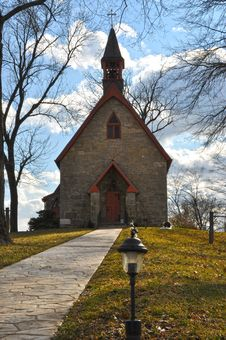 Free Country Church Stock Photography - 23548312