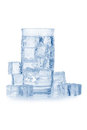 Free Glass Of Iced Mineral Water Stock Image - 23551181