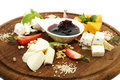 Free Cheese Plate Stock Image - 23552321