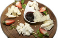 Free Cheese Plate Stock Photo - 23552510
