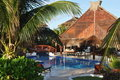 Free Beach Bar And Pool Royalty Free Stock Photo - 23559155