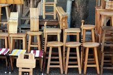 Free The Seller Of Chair. Royalty Free Stock Photography - 23550207