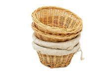Free Straw Plates Stock Image - 23552301