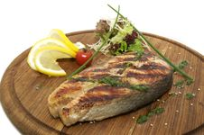 Free Grilled Salmon Stock Images - 23552324