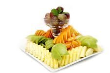 Free A Plate Of Fruit Royalty Free Stock Photos - 23552518