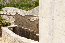 View On Roofs - Pocitelj Stock Photography