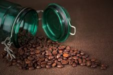 Free Coffee Beans Royalty Free Stock Photo - 23557715