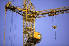 Free Construction Crane Stock Photography - 23558852