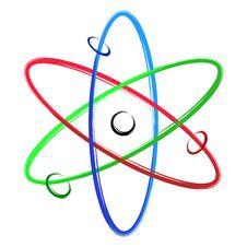 Free Abstract Atom Stock Photo - 23559340