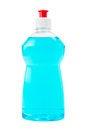 Free Bottle  Of Blue Dish Washing Liquid Isolated Stock Images - 23562774