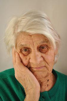 Free Sad Old Age Stock Photos - 23562583