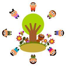 Free Nature Kids Stock Image - 23564971