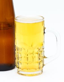 Free Beer Mug Royalty Free Stock Photo - 23565745